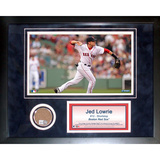 Jed Lowrie Mini Dirt Collage Framed Memorabilia