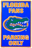 Florida Gators Parking Only Tin Sign