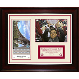 Alabama 2009 National Champions Ticket Collage- Strength Framed Memorabilia