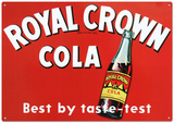 Royal Crown Cola Soda Cartel de chapa