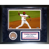 Cristian Guzman Mini Dirt Collage Framed Memorabilia