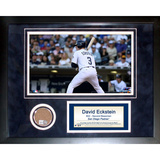 David Eckstein Mini Dirt Collage Framed Memorabilia