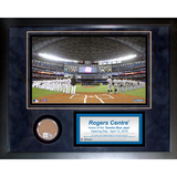Rogers Centre Mini Dirt Collage Framed Memorabilia