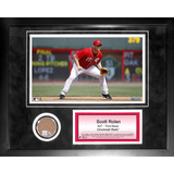 Scott Rolen Mini Dirt Collage Framed Memorabilia