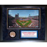 Citizen&#39;s Bank Park Mini Dirt Collage Framed Memorabilia