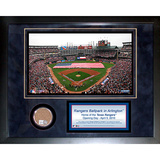 Ballpark at Arlington Mini Dirt Collage Framed Memorabilia