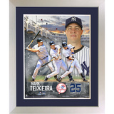 Mark Teixeira Multi Exposure Photo Collage Framed Memorabilia