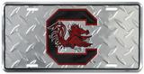 Gallos de pelea de Carolina del Sur Cartel de metal