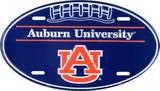 Universidad de Auburn Cartel de metal