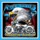 Dixie Outfitters Southern Heritage Motorcycle Tin Sign