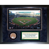 Oakland Athletics Mini Dirt Collage Framed Memorabilia