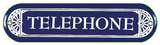Telephone Booth Wall Sign