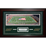 Jets Meadowlands Panoramic Turf Collage Framed Memorabilia