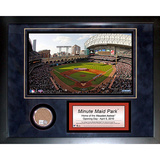 Minute Maid Field Mini Dirt Collage Framed Memorabilia