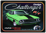 Dodge Challenger 426 Hemi R/T Car - Metal Tabela