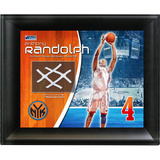 Anthony Randolph New York Knicks Game Used Net Photo Collage Framed Memorabilia