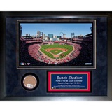 Busch Stadium Mini Dirt Collage Framed Memorabilia