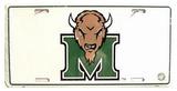 Marshall University License Plate Blikskilt