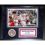 Brian McCann Mini Dirt Collage Framed Memorabilia