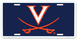 University of Virginia Cavaliers License Plate Tin Sign