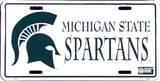 Michigan State Spartans Plakietka emaliowana