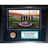 Sun Life Field Mini Dirt Collage Framed Memorabilia