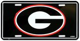 University of Georgia License Plate Plaque en métal