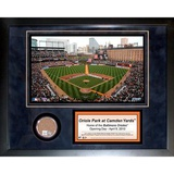 Oriole Park Mini Dirt Collage Framed Memorabilia