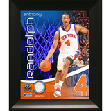 Anthony Randolph New York Knicks Game Used Pants Framed Collage Framed Memorabilia