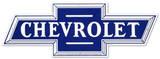 Chevrolet Chevy Botwie Logo - Metal Tabela