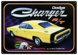 Dodge Charger R/T Car Plaque en métal