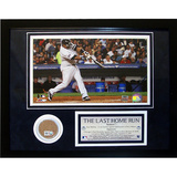Jose Molina &#39;The Last Home Run&#39; Mini Dirt Collage Framed Memorabilia
