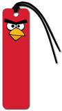 Angry Birds Red Bird Face Beaded Bookmark Bookmark