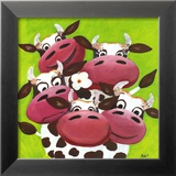 Herd Print by Nat