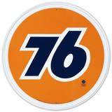 Union 76 Gasoline Gas Station Plaque en métal