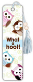 Owls What a Hoot Beaded Bookmark Bookmark