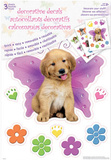 Keith Kimberlin Puppies Decorative Decals Stickers