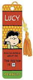 Peanuts Lucy Psychiatric Help 5 Cents Beaded Bookmark Bookmark