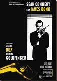 Goldfinger-Window Reproduction transférée sur toile