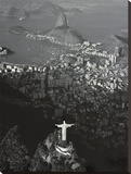 Rio-Cristo Redentor I Stretched Canvas Print