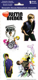 Justin Bieber Peel and Stick Removable Reusable Decorative Decals Sticker Pack Stickers