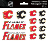 Calgary Flames Temporary Tattoos Temporary Tattoos