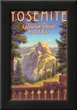 Yosemite, Glacier Point Hotel Affischer av Kerne Erickson