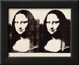 Double Mona Lisa, 1963 Affiches par Andy Warhol