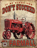 Farmall - Succeed Cartel de chapa