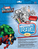 Marvel Heroes Travel Kit Craft Supplies