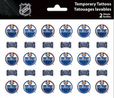 Edmonton Oilers Temporary Tattoos Temporary Tattoos