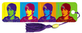 Justin Bieber Pop Art Colors Music Beaded Bookmark Bookmark