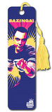 Big Bang Theory Sheldon Bazinga TV Collector's Beaded Bookmark Bookmark