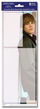 Justin Bieber Peel and Stick Removable and Reusable Dry-Erase Decorative Decals Sticker Pack Stickers